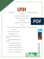 Equipo5_Pintura, Escultura, Arquitectura y fotografía en el Estado de Hidalgo..docx