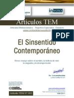 TEM 002 - El Sinsentido Contemporáneo - CarlosdelaRosavidal