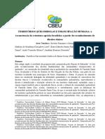 Territórios Quilombolas e Emancipação Humana - a reconstrução da estrutura agrária brasileira a partir do reconhecimento de direitos étnicos