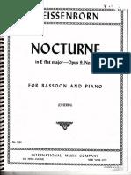 Nocturno de Weissenborn, piano
