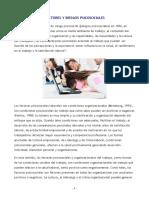 Factores y riesgos psicosociales