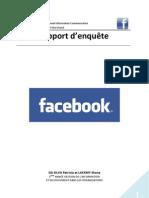 Enquête sur Facebook 2009
