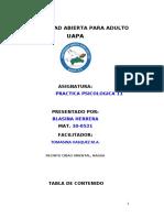 TRABAJO FINAL DE PRACTICA PSICOLOGICA 11