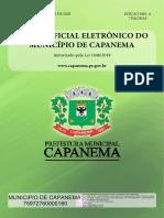 Jornal regional de capanema