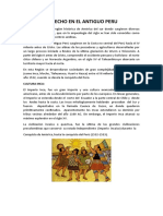 DERECHO EN EL ANTIGUO PERU