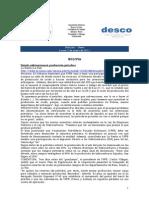 Noticias 3 de enero RWI - DESCO