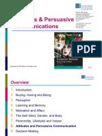 8_Attitudes and Persuasive Communication