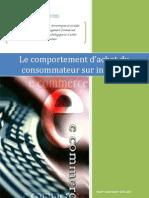 Le Comportement d'Achat Du Consommateur Sur Internet