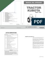Kubota - m108