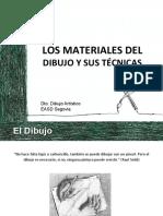 Los materiales del dibujo y sus técncias