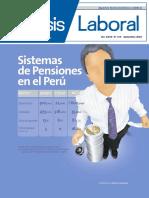 Sistemas de Pensiones en el Perú Sistemas de Pensiones ... - AELE