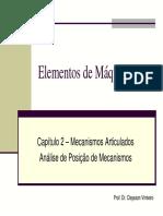Capítulo 2 - Mecanismos Articulados