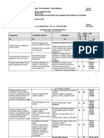 planificare cls a IX -a stagii de pregatire practica