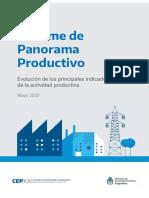 Informe de Panorama Productivo - Mayo 2020