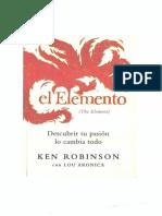 Ken Robinson - El Elemento (B&W)