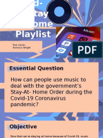 ppt demo copy of covid-19 stay at home playlist pba project  1