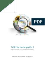 Tema II Estructura del Protocolo de Investigación