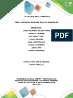 Fase 4 - Medidas de Manejo de Impactos Ambientales