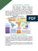 BIORREGIONES DE LA TIERRA.docx