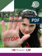 Prevencion de la violencia de pareja hacia las mujeres