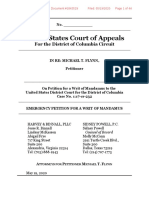 5-19-20 Flynn Mandamus Petition DC Circuit