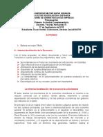 IMPORTANCIA DE LA INTERNACIONALIZACION ECONOMICA