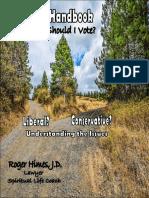 A Voter's Handbook