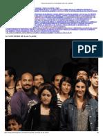 Patricio Guzmán _ 2) CONTENIDO DE LAS CLASES