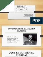 TEORIA CLASICA, EXPOSICION.
