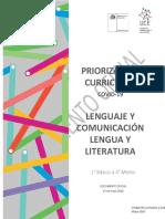 Lenguaje Priorización Curricular