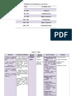 Planificação de Actividades - semanal - pré-escolar