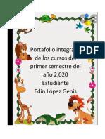 Portafolio Integrado Edin López Genis