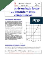 BT006-Efectos de un bajo fdp y su compensacion.pdf