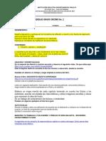 GUÍA DE APRENDIZAJE GRADO DÉCIMO No 2 LA EXPERIENCIA DE JESUCRISTO (1)