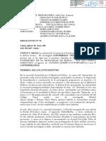 Resolución que declara fundada solicitud de cese de prisión preventiva