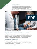 Desventajas de estudiar Cirugía Plástica