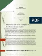 TRASTORNO OBSESIVO-COMPULSIVO Y TRATORNO RELACIONADOS