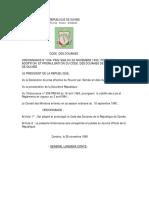 Code Des Douane