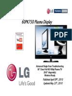 LG 60PK750 Plasma TV Training Manual