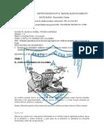 GRADO 11 SOCIALES CONFLICTO ARMADO EN COLOMBIA