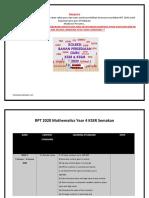 RPT 2020 Mathematics Year 4 KSSR Semakan