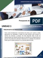 UNIDAD 3 PRESUPUESTO DE PRODUCCIÓN