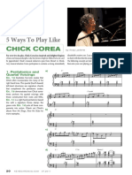 5 Ways To Play Like Chick Corea
