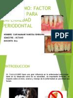 tabaco en periodoncia