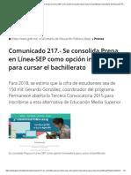 Comunicado 217.- Se consolida Prepa en Línea-SEP como opción innovadora para cursar el bachillerato _ Secretaría de Educación Pública _ Gobierno _ gob.mx.pdf