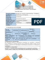 Guia de actividades y rubrica de evaluacion - Fase 2  Diseño del proyecto