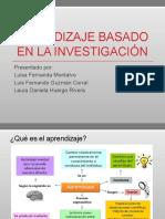 Aprendizaje investigativo