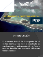 MORFOLOGÍA COSTERO - MARINA