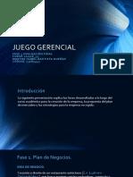 JUEGO GERENCIAL - Fase 4. Evaluacion Final
