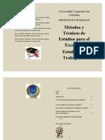 METODOS DE ESTUDIO-cartilla tipo Cartilla